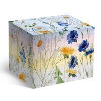 Коробка под кофейную кружку цветочный ситец