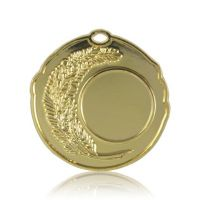 Медаль HB083 золото D50мм, D вкладыша 25мм