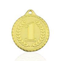Медаль корпусная MK238a золото D медали 32мм первое место