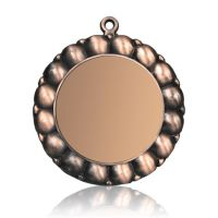 Медаль Zj-M795 бронза D65мм, D вкладыша 45мм