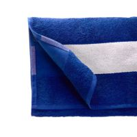 Полотенце махровое 50*90 см, 350 г/м2, хлопок, с 1 полем под сублимацию, синий (619)