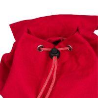 Рюкзак красный 280х310мм с полем для печати 163х177мм