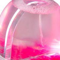 Шар водяной сфера с хлопьями в виде сердечек в индивид упаковке 90x90x85мм